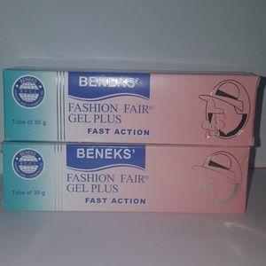 Beneks Fashion Fair gel plus (3 pack)